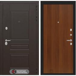 Входная металлическая дверь Лабиринт Мегаполис 5 (Итальянский орех)