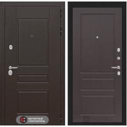 Входная металлическая дверь Лабиринт Мегаполис 3 (Орех премиум)