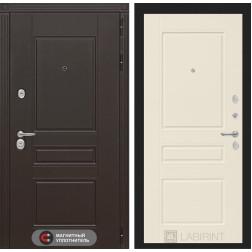 Входная металлическая дверь Лабиринт Мегаполис 3 (Крем софт)