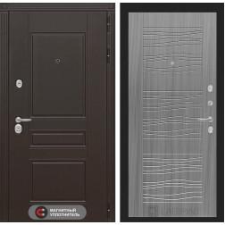 Входная металлическая дверь Лабиринт Мегаполис 6 (Сандал серый)