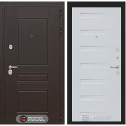 Входная металлическая дверь Лабиринт Мегаполис 14 (Дуб кантри белый)