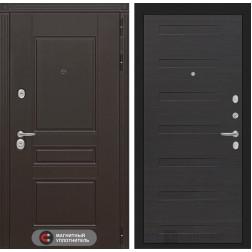 Входная металлическая дверь Лабиринт Мегаполис 14 (ЭкоВенге)