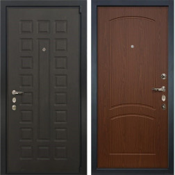 Входная металлическая дверь Лекс 4А Неаполь Mottura Береза мореная (панель №11)