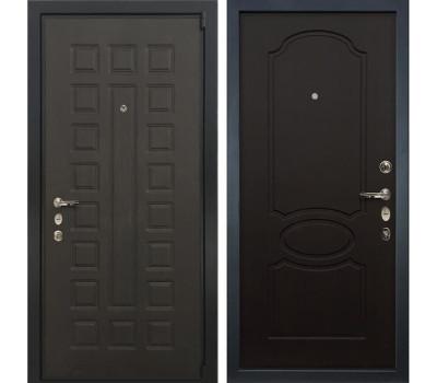 Входная металлическая дверь Лекс 4А Неаполь Mottura Венге (панель №13)