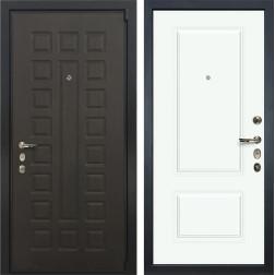 Входная дверь Лекс 4А Неаполь Mottura Вероника-1 Эмаль Белая (панель №55)