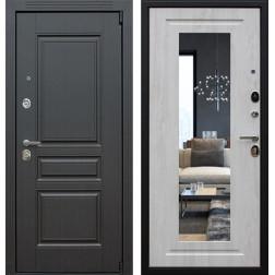 Входная дверь АСД Гермес 3К New с Зеркалом Элит (Венге / Сосна белая)