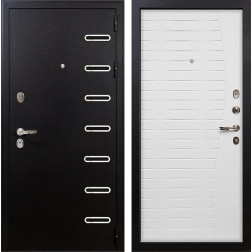 Входная металлическая дверь Лекс Витязь Ясень белый (панель №36)
