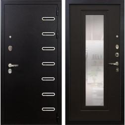 Входная металлическая дверь Лекс Витязь с Зеркалом Венге (панель №22)