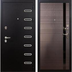 Входная металлическая дверь Лекс Витязь Ясень шоколад (панель №31)
