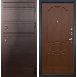 Входная металлическая дверь Лекс Легион Берёза мореная (панель №12)
