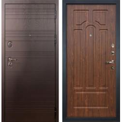 Входная металлическая дверь Лекс Легион Берёза мореная (панель №26)