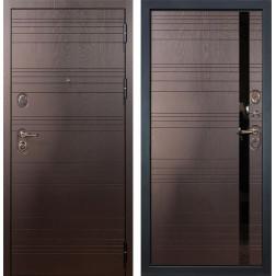 Входная металлическая дверь Лекс Легион Ясень шоколад (панель №31)