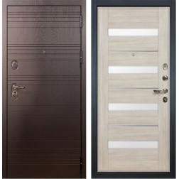 Входная металлическая дверь Лекс Легион Сицилио Ясень кремовый (панель №48)