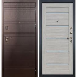 Входная металлическая дверь Лекс Легион Клеопатра-2 Ясень кремовый (панель №66)