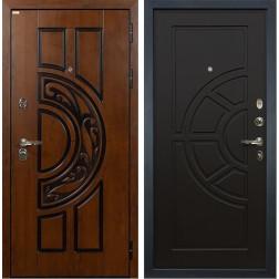 Входная металлическая дверь Лекс Спартак Cisa Венге (панель №43)