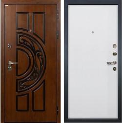 Входная металлическая дверь Лекс Спартак Cisa Ясень белый (панель №62)