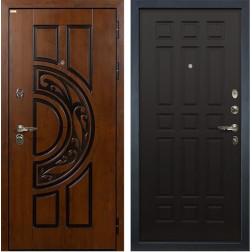Входная металлическая дверь Лекс Спартак Cisa Венге (панель №29)