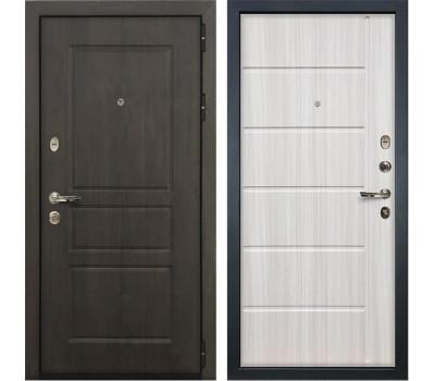 Входная стальная дверь Лекс Сенатор Винорит Сандал белый (панель №42)