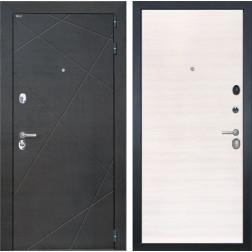 Входная дверь Интекрон Сенатор Лучи (Венге распил кофе / Дуб сильвер)
