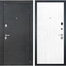 Входная дверь Интекрон Сенатор Лучи Элит (Венге распил кофе / Роял Вуд белый)
