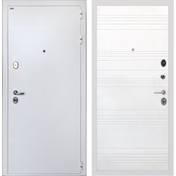 Входная дверь Интекрон Колизей White ФЛ-316 (Белая шагрень / Ясень белый)