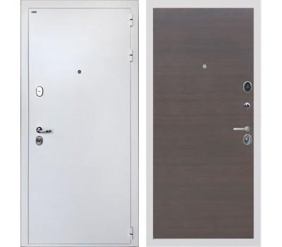 Входная стальная дверь Интекрон Колизей White (Белая шагрень / ЭкоВенге)