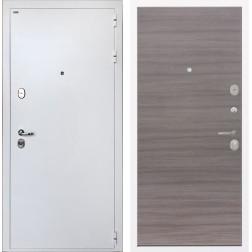 Входная дверь Интекрон Колизей White (Белая шагрень / Дуб Тоскано)