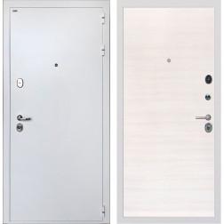 Входная дверь Интекрон Колизей White (Белая шагрень / Дуб Сильвер)