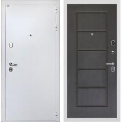 Входная дверь Интекрон Колизей White ФЛ-39 (Белая шагрень / Орех премиум)