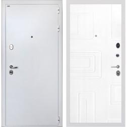Входная дверь Интекрон Колизей White Элит (Белая шагрень / Роял Вуд белый)