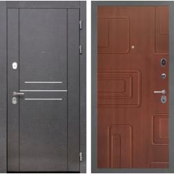 Входная металлическая дверь Интекрон Сенатор Лофт Элит (Лиственница кофе)