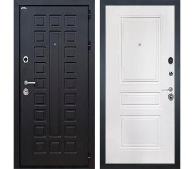 Входная металлическая дверь Интекрон Сенатор ФЛ-243-М (Венге / Белый матовый)