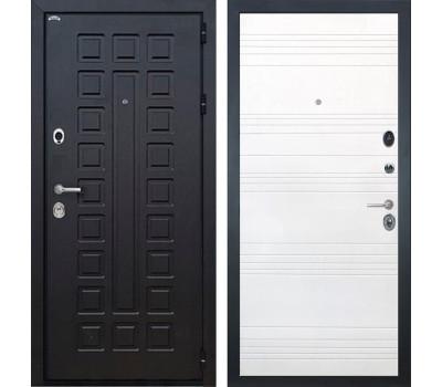 Входная металлическая дверь Интекрон Сенатор ФЛ-316 (Венге / Ясень белый)