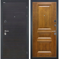 Входная дверь Интекрон Сицилия Валентия-2 Шпон (ЭкоВенге / Дуб бренди)