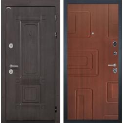 Входная металлическая дверь Интекрон Италия Элит (Венге / Лиственница кофе)