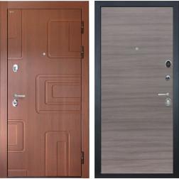 Входная стальная дверь Интекрон Элит (Лиственница кофе / Дуб Тоскано)