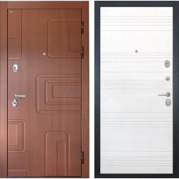Входная дверь Интекрон Элит ФЛ-316 (Лиственница кофе / Ясень белый)