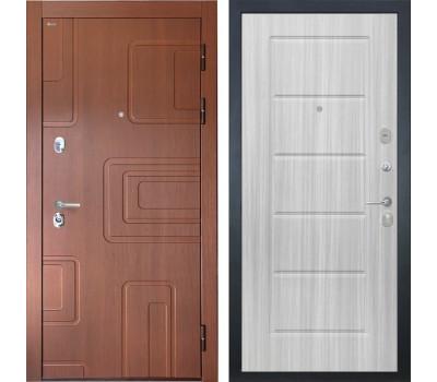 Входная стальная дверь Интекрон Элит ФЛ-39 (Лиственница кофе / Сандал белый)