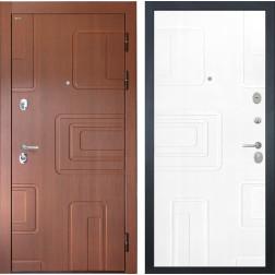 Входная стальная дверь Интекрон Элит (Лиственница кофе / Роял Вуд белый)