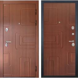 Входная стальная дверь Интекрон Элит (Лиственница кофе / Лиственница кофе)