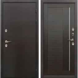 Дверь с терморазрывом Лекс Термо Сибирь 3К Верджиния Венге (панель №39)
