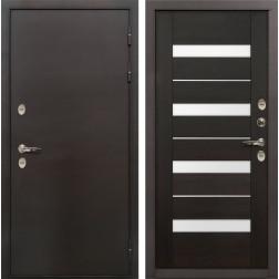 Дверь с терморазрывом Лекс Термо Сибирь 3К Сицилио Венге (панель №51)