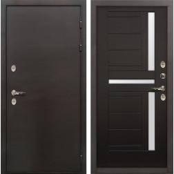 Входная дверь с терморазрывом Лекс Термо Сибирь 3К Венге (панель №35)