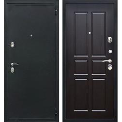 Входная дверь Персона Евро-2 Конструктор (Чёрный шёлк / Венге темный)
