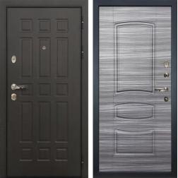 Входная металлическая дверь Лекс 8 Сенатор Сандал серый (панель №69)