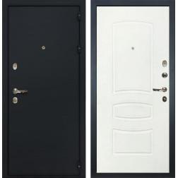 Входная металлическая дверь Лекс 2 Рим Белая шагрень (панель №68)