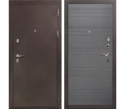 Входная металлическая дверь Лекс 5А Цезарь Графит софт (панель №70)