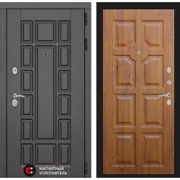 Входная металлическая дверь Лабиринт Нью-Йорк 17 (Золотой дуб)