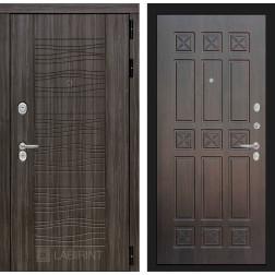 Входная дверь Лабиринт Сканди 16 (Дарк Грей / Алмон 28)