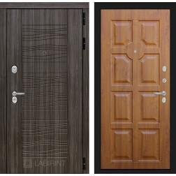 Входная дверь Лабиринт Сканди 17 (Дарк Грей / Золотой дуб)